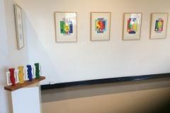 Ties that Bind Drawings - Gordon Gallery Exhibition
