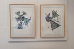New Marks Drawings - Gordon Gallery Exhibition